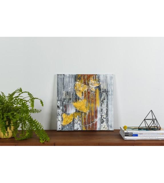 Tablou pictat manual Ceata, dimensiunea 40x40cm