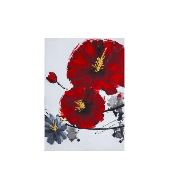 Tablou pictat manual Cherry Blossom A, dimensiunea 70x50cm