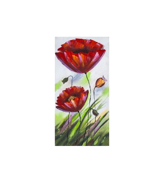 Tablou pictat manual Select, dimensiunea 80x40cm