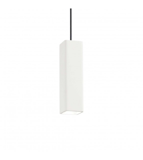 Pendul OAK SP1 square, 150666, Ideal Lux, alb