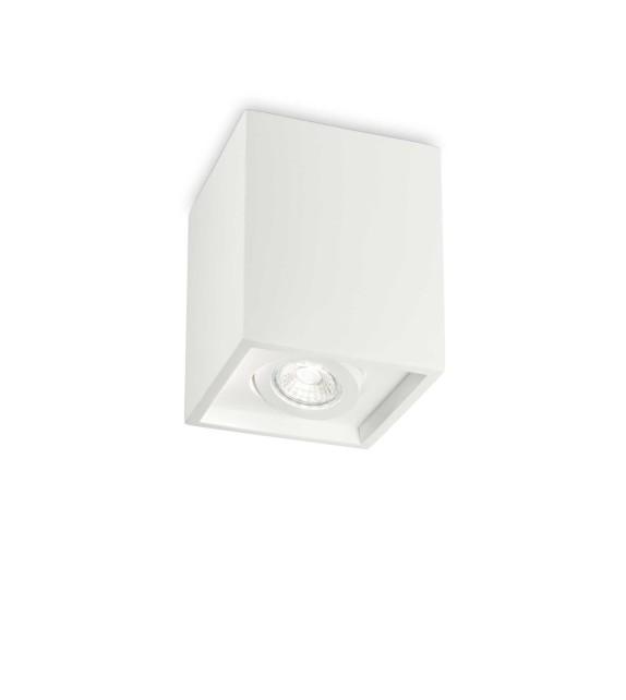 Spot OAK PL1 square, 150468, Ideal Lux, alb