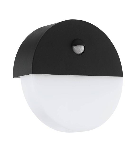 Aplica exterior cu senzor TARAGONA 75551 EGLO, LED 11W, 1200lm, negru