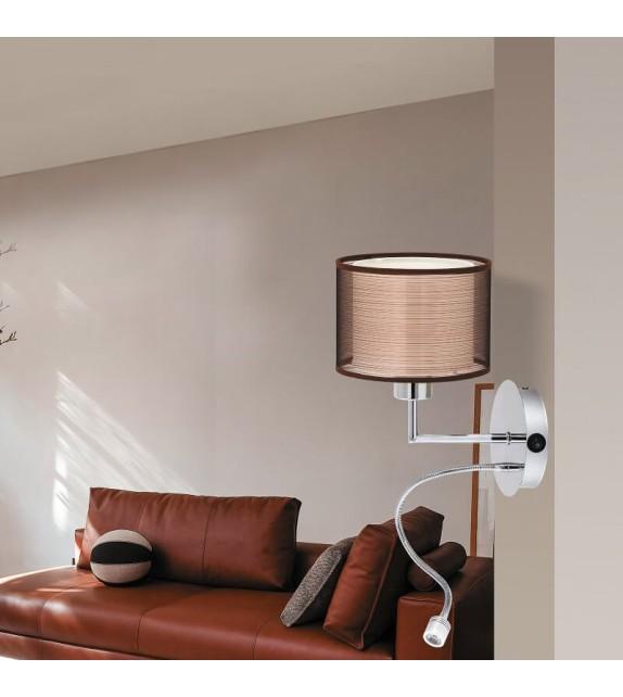 Aplica Anastasia - 2629 Rabalux, LED 1W, E27 1x60W, crom-maro