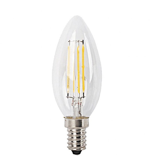Bec LED E14 cu filament - 1692 Rabalux, 4W, 470lm, A++, lumina neutra