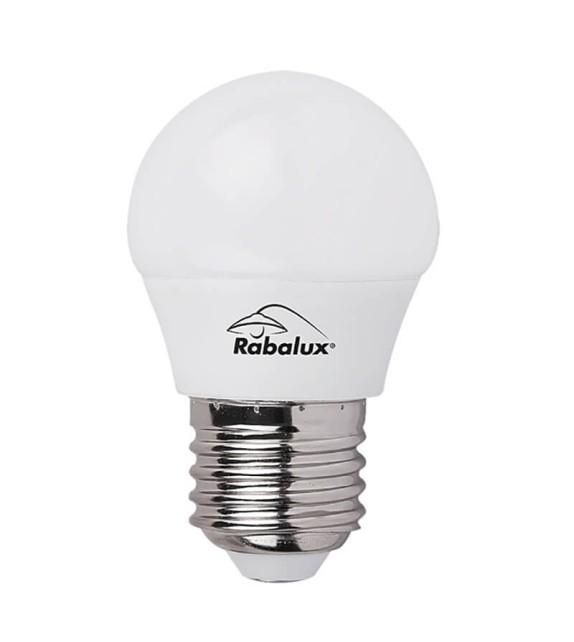 Bec Led E27 - 1615 Rabalux, 5W, 400lm, lumina calda, 25000 ore
