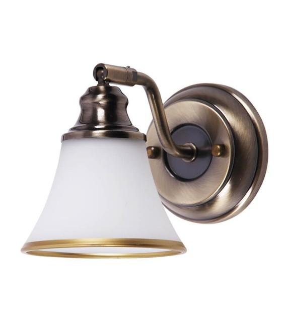 Aplica Grando - 6545 Rabalux, bronz/alb, 1xE14