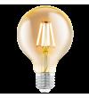 Bec decorativ LED cu filament - 11556 Eglo, E27, 4W, 330lm, lumina calda