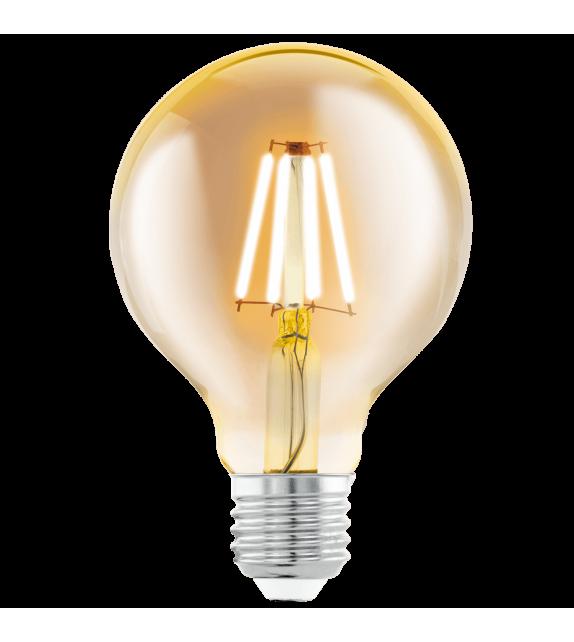Bec vintage LED AMBER 11556 Eglo, E27, 4W, 320lm, 2200K