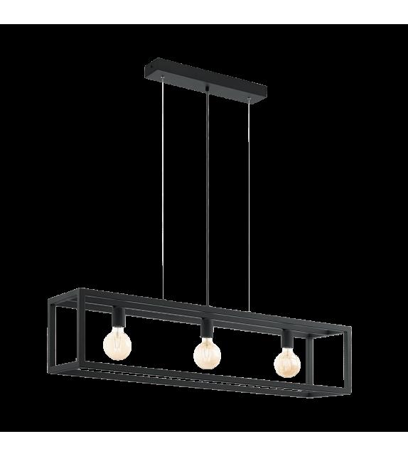 Pendul Elswick - 49564 Eglo, stil scandinav, negru