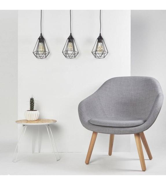 Pendul Tarbes - 94189 Eglo, stil scandinav, negru