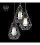 Lustra Tarbes - 94191 Eglo, stil scandinav, negru
