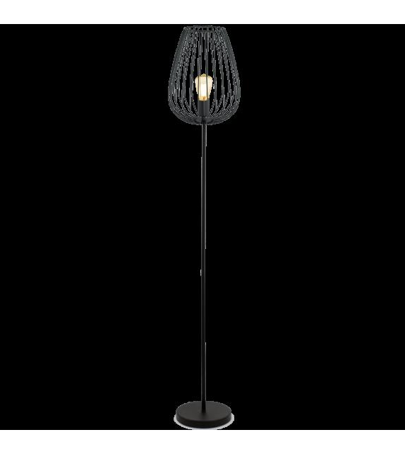 Lampadar Newtown - 49474 Eglo, stil scandinav, negru
