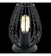 Veioza Newtown - 49481 Eglo, stil scandinav, negru