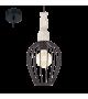 Pendul Norham - 49782 Eglo, stil scandinav, negru