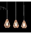 Lustra Tarbes - 94195 Eglo, stil scandinav, negru-cupru