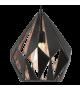Pendul Carlton 1 - 49254 Eglo, stil scandinav, negru-cupru