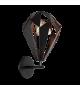Aplica de perete Carlton 1 - 49992 Eglo, stil scandinav, negru-cupru
