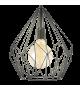 Pendul Carlton - 49257 Eglo, stil scandinav, negru