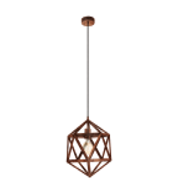 Pendul Embleton - 49797 Eglo, stil scandinav, cupru antichizat