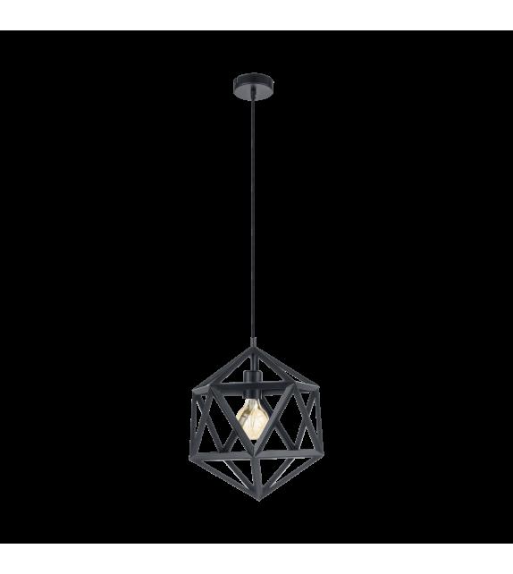 Pendul Embleton - 49761 Eglo, stil scandinav, negru