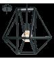 Pendul Embleton - 49756 Eglo, stil scandinav, negru