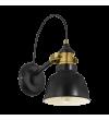 Aplica de perete Thornford - 49522 Eglo, stil scandinav, negru-bronz