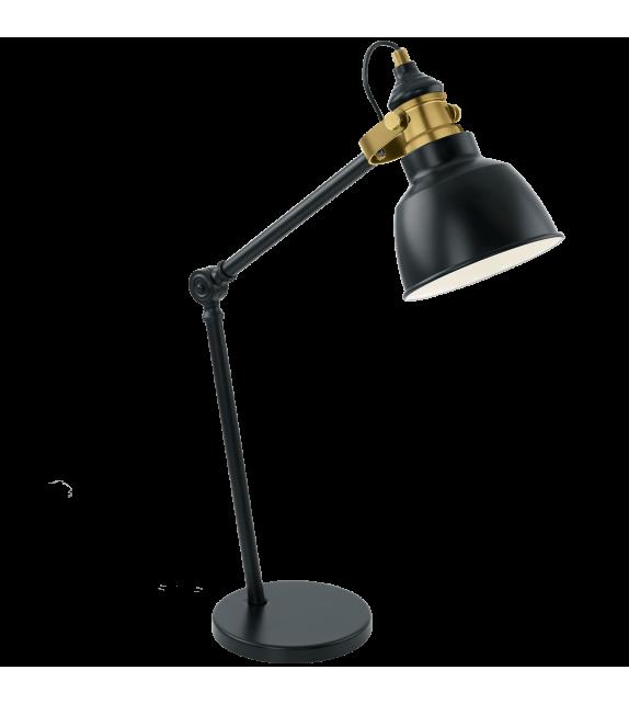 Veioza Thornford - 49523 Eglo, stil scandinav, negru-bronz