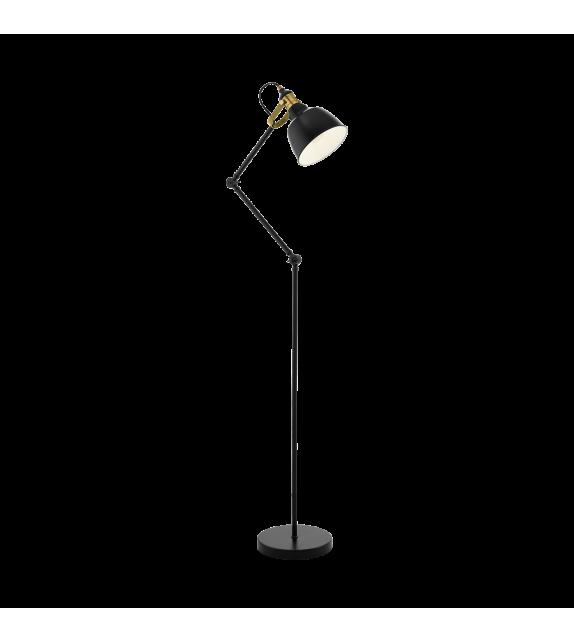 Lampadar Thornford - 49524 Eglo, stil scandinav, negru-bronz