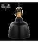 Pendul Gilwell - 49839 Eglo, stil scandinav, negru-bronz