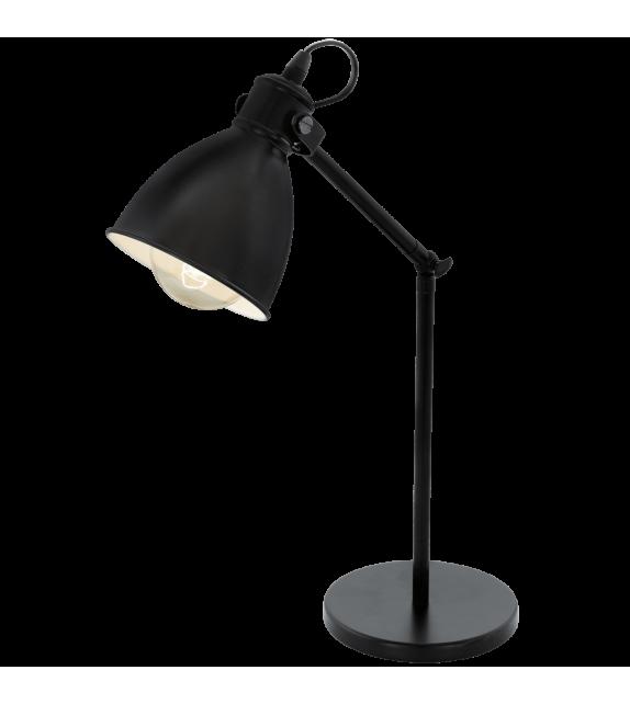 Veioza Priddy - 49469 Eglo, stil scandinav, negru
