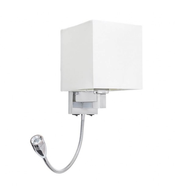 Aplica de perete Larkin - 6530 Rabalux, 1xE27, LED, crom