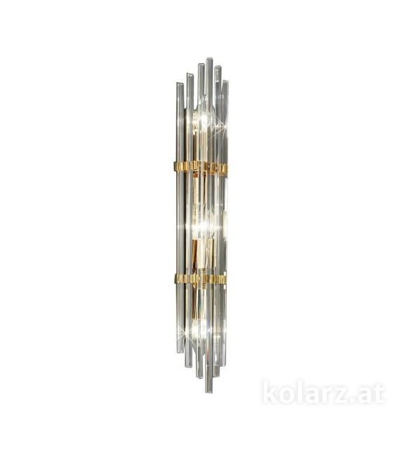 Aplica perete Ontario 0342.63.3 Kolarz, L60, E14, 3x40W, placat cu aur 24 carate