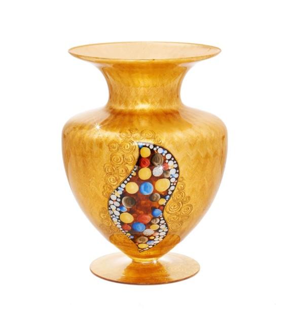 Vaza decorativa ANFORA HOME - Kolarz, Kiss Auriu, 24/33