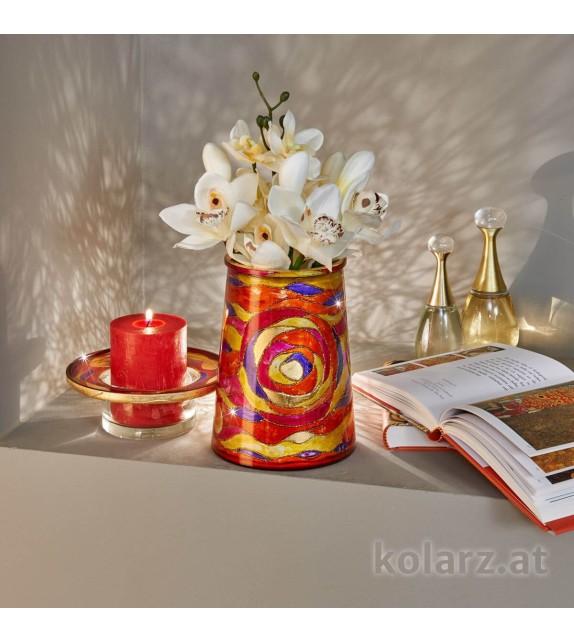 Vaza decorativa ANFORA HOME - Kolarz, Aqua Red, 16/20