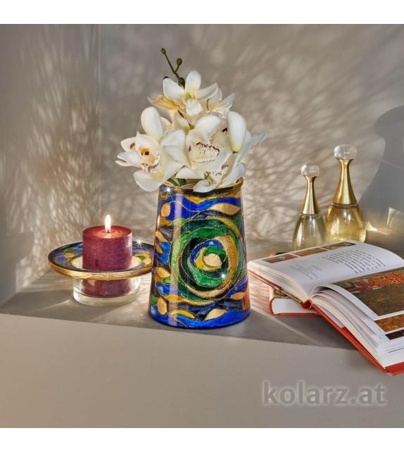 Vaza decorativa ANFORA HOME - Kolarz, Aqua Blue, 16/20