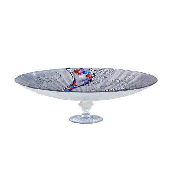 Fructiera sticla FRUTTA - Kolarz, Kiss Argintiu, 50/15