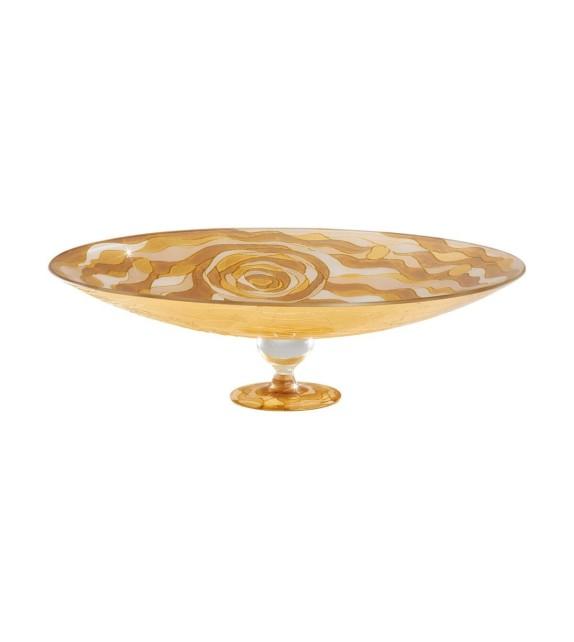 Fructiera sticla FRUTTA - Kolarz, Aqua Champagne, 30/13