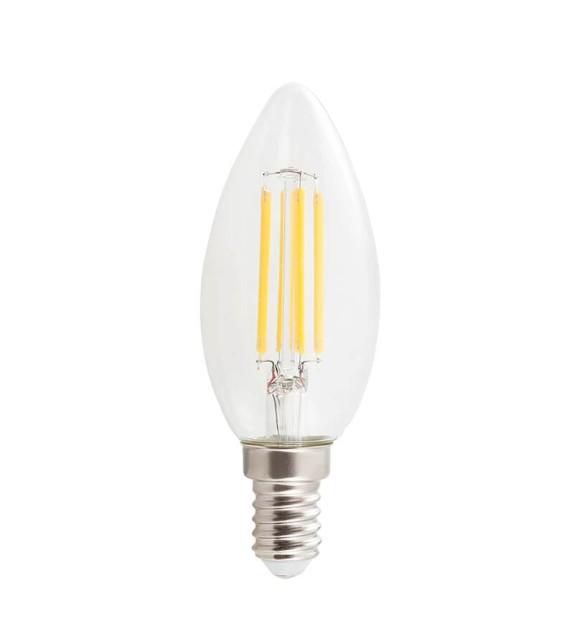 Bec LED E14 cu filament - 1592 Rabalux, 4W, 450lm, lumina calda