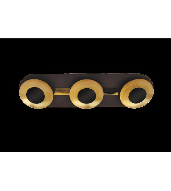 Plafoniera Brigitte - 2553 Rabalux, LED 3x5W, maro-auriu