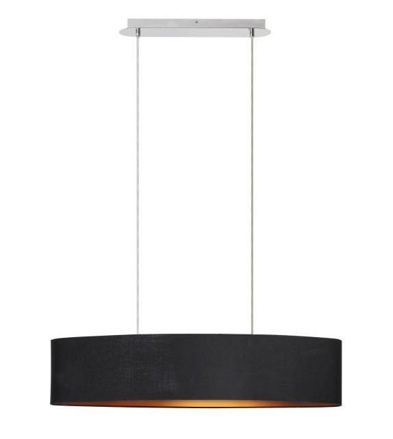 Pendul Monica - 2527 Rabalux, E27, 2x60W, negru