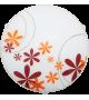 Plafoniera Iris - 1896 Rabalux, E27, 1x60W, alb-multicolor