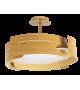 Plafoniera Berbera - 2246 Rabalux, E27, 3x60W, maro fag