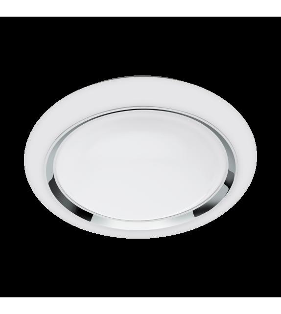 Plafoniera LED, Capasso Connect, 96686, Alb-Crom, 17W, 2100lm