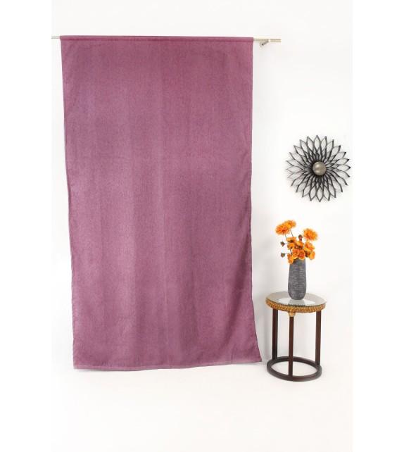 Draperie Jennifer Mendola Home Textiles, 140x245cm, cu rejansa, mov