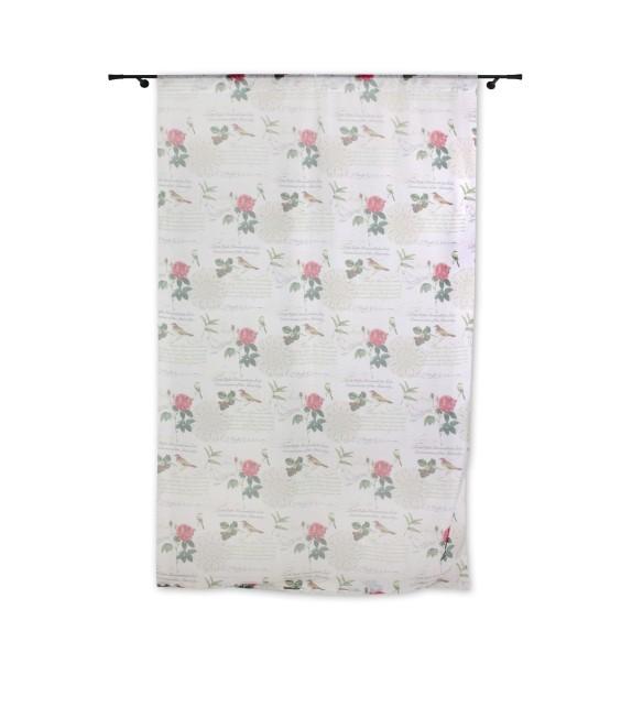 Perdea Shoyo Mendola Home Textiles, 400x245cm, cu rejansa, roz