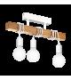 Plafoniera Townshend - 33166 Eglo, 3xE27, stil scandinav, maro-alb