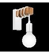 Aplica Townshend - 33162 Eglo, 1xE27, stil scandinav, maro-alb
