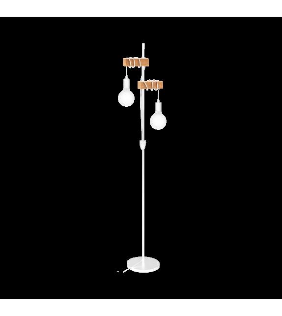 Lampadar Townshend - 33167 Eglo, 2xE27, stil scandinav, maro-alb