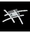 Plafoniera Nevado 96305 Eglo, LED, 4x5W, 1880lm, 3000k, crom