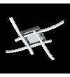 Plafoniera Valmora 96327 Eglo, LED, 4x5W, 1880lm, 3000k, crom